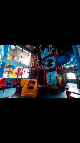 Parque infantil motivo animales del mar ( playground)