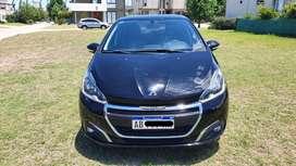 Peugeot 208 Allure Nav Tiptronic Modelo 2017 Urgente
