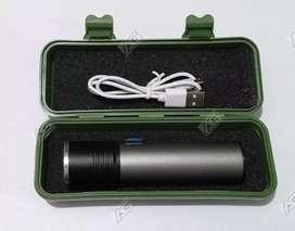Linterna CREE LED USB