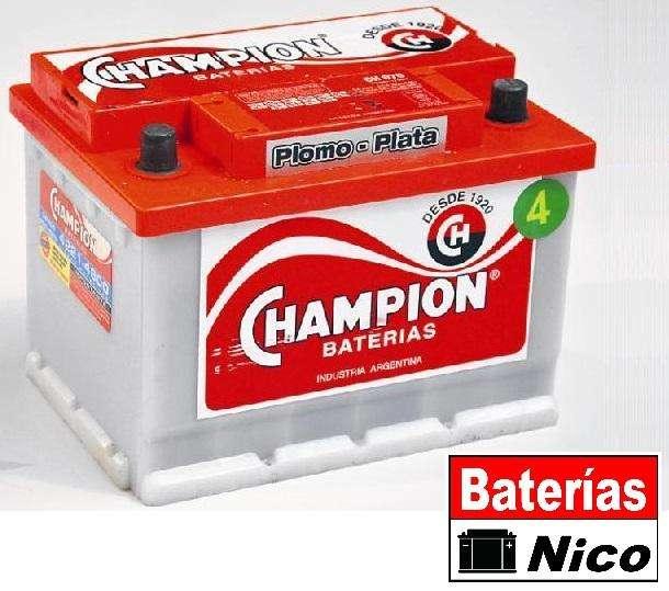 Bateria Champion 12x75  Quilmes 0