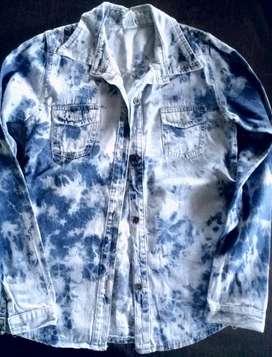 Camisa de Jeans para Nena
