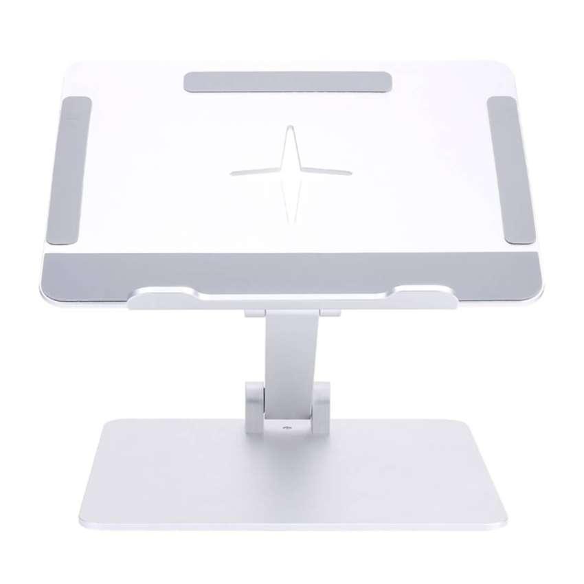 Soporte Rectangular Para Portátil Altura Graduable Aluminio