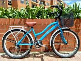 Bicicleta Playera para dama marca Tornado.