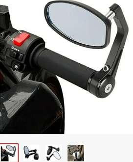 Espejos para timón de manubrio moto
