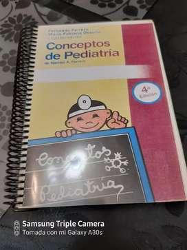 Libro sin uso .Conceptos de Pediatria