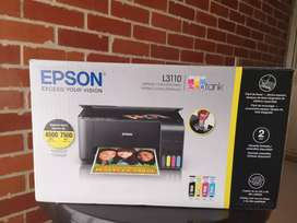 Impresora Epson l3110 a color