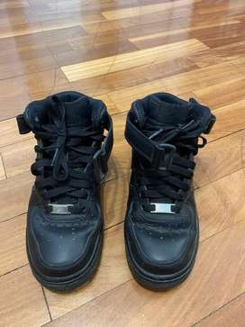 Zapatillas Nike Air Force negras 36