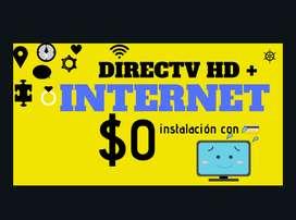 DIRECTV telévision satelital + banda ancha