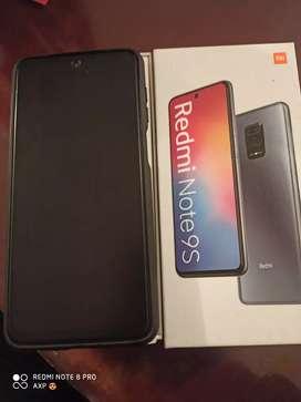 Vendo celular Xiaomi redmi note 9s