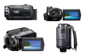 Filmadora Sony Handycam HDR 200 VE con disco duro de 120GB