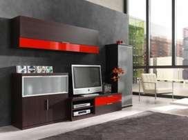 muebles de entretenimiento remodelaciones chaves  muebles modulares.