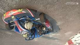 Karting completo funcionado con agregados