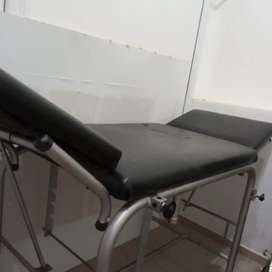 Camilla ambulatoria hospitalaria con respaldo