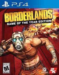 Borderlands Game of the year edition Ps4 Juego usado, en excelentes condiciones