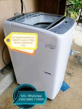 LG Smart Inverter Lavadora