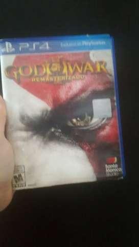 VENDO GOD OF WAR PS4 $39.999