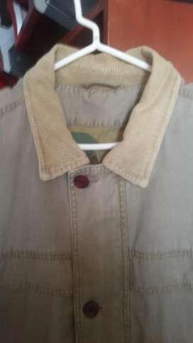 casaca americana trail designe color militar xl