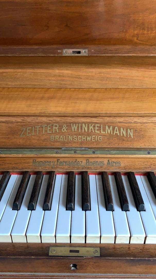 Piano vertical Aleman excelente estado! 0