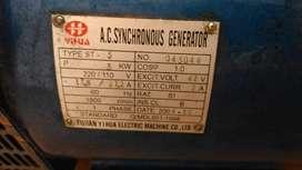 Vendo Gerador AC SYNCHRONOUS 3kws buen estado poco uso.