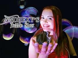 Show de Burbujas en Cali.