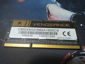 Memoria Ram 8 Gb Ddr3 Corsair