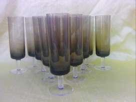 Antiguas copas de cristal lote