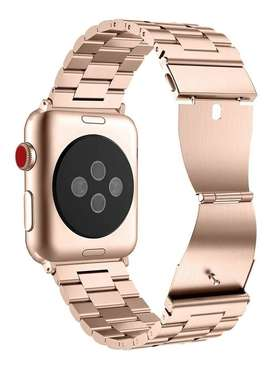 Correa Reloj Apple Watch Band 44mm 42mm Eslabones Acero