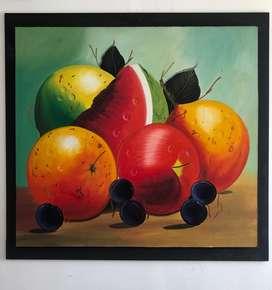 Cuadro de Frutas, Comedor