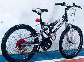 Bicicleta Monarkdoble amortiguación