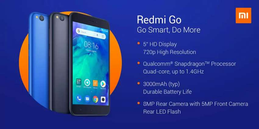 Mi Xiaomi Redmi Go 8 gb 0