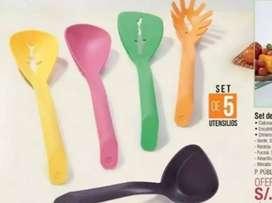 Set de utensilios x5 pzs Collory fish