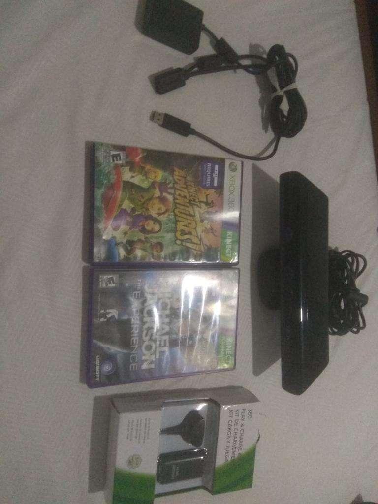 Kinect con Juegos Originales, Adaptador 0