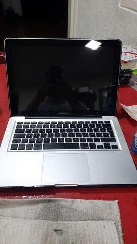 Macbook Pro como nuevo, 290 ciclos, SSD 256gb