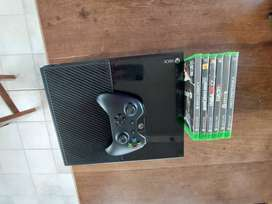 Xbox One 500 gb kinect 1 joystick 6 juegos impecable