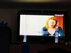 Vendo tv LG  42 pulgadas no smart tv