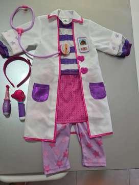 Disfraz doctora juguetes disney original