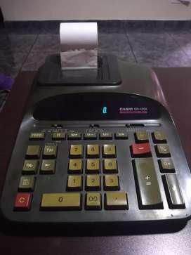 Calculadora Casio Dr 120 eléctrica