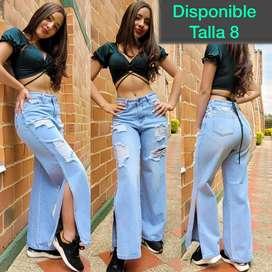Jeans pallazo