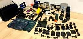 Vendo accesorios originales GoPro