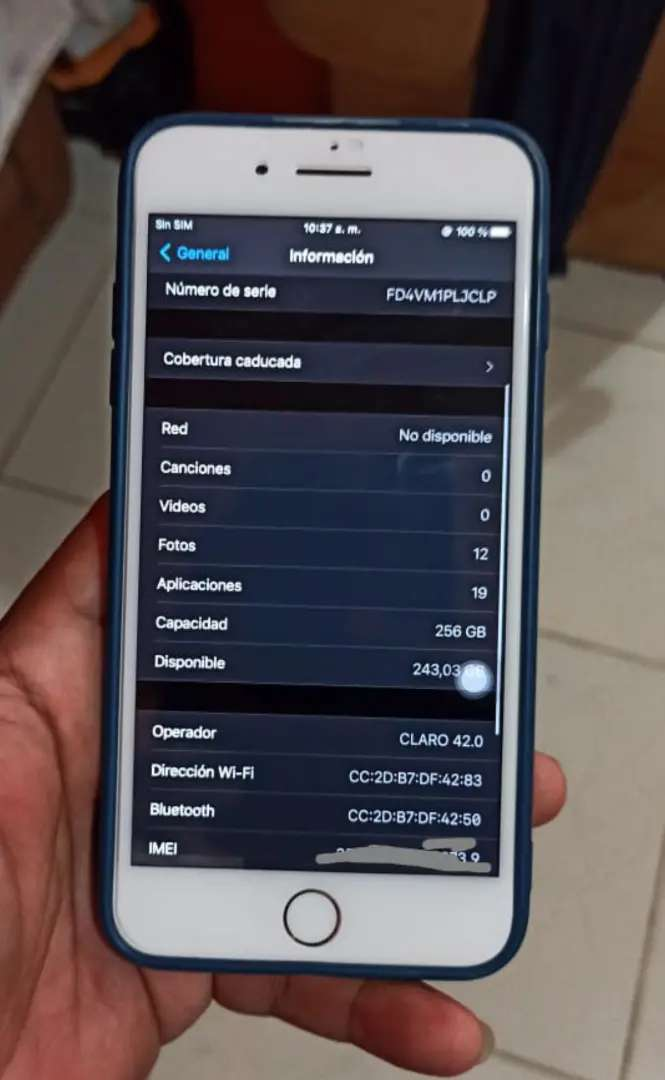 iPhone 8 plus 256gigas 0