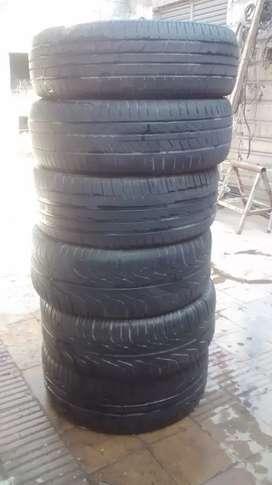 Neumático usado 225/45/17 225/50/16 225/50/16 205/50/16 205/65/15  195/65/15