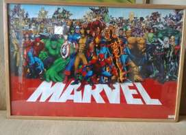 Vendo Poster Universo Marvel Original