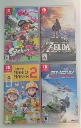 Juegos e Nintendo Switch