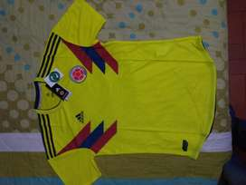 Camisa Seleccion Colombia 2018 Techfit