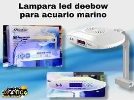 Lampara led deebow para acuario marino