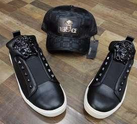 Zapatos Versace Medusa Para Caballero