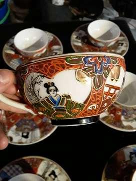 Juego de té japones,