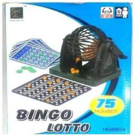 Bingo Lotto Balotera Juego Mesa Familiar