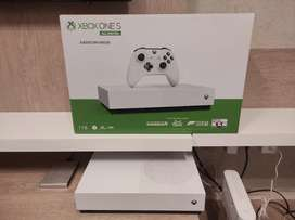Xbox One S 1 TB all digital + 1 mes game pass ultimate