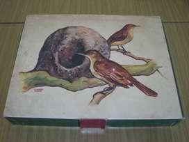 Vendo Cajas de Fósforos Vacias con imágenes de Pajaros.
